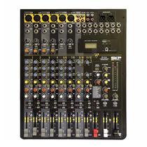 Mixer Skp Vz 12.4 12 Canales Usb