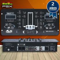 Consola Mezcladora Mixer Gbr Mx-3000 Mp3 Dj *usb *sd