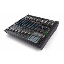 Consola Mixer 12 Canales Dsp Efectos Y Usb Denon Pro Dn412x