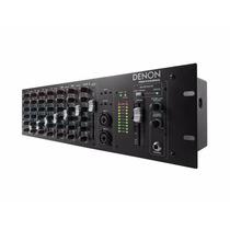 Consola Mixer 10 Canales Bluetooth Denon Pro Rack Dn410x