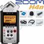 Zoom H4n / Grabador Digital Prof 4 Canales Con Accesorios