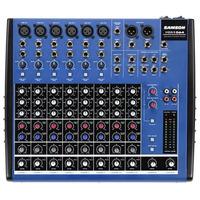 Consola Samson Mdr1064 10 Canales 6 Mono 2 Stereo Mixer
