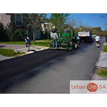Terminadora De Asfalto , Servicio Pavimentacion Urbana