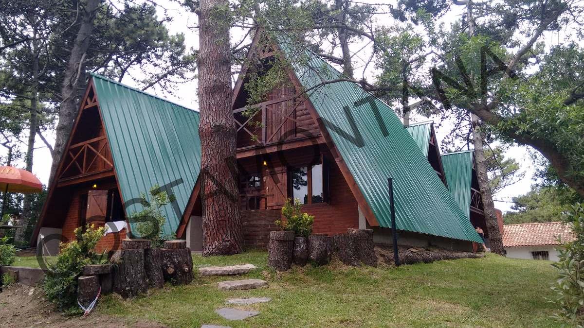 Construcci n de caba as alpinas modelo full - Construccion de cabanas de madera ...