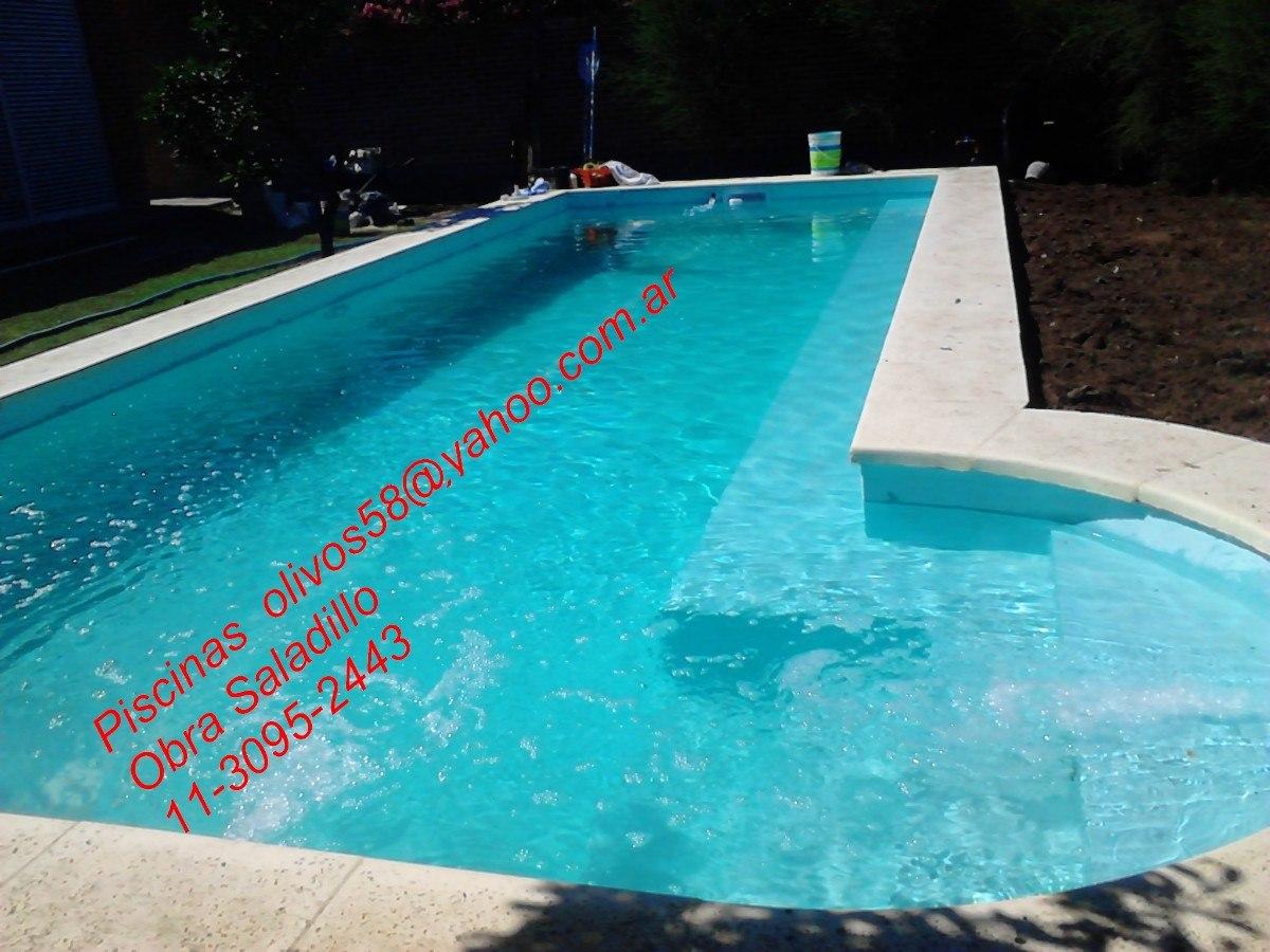 Construcci n de piscinas en hormig n armado malvinas for Construccion piscinas hormigon
