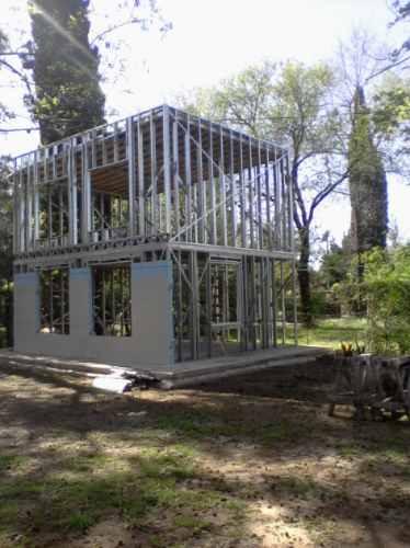 Construccion de viviendas steel framing steel frame - Casas steel framing ...