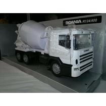 Scania R 124/400 Cementero En Escala 1/32,