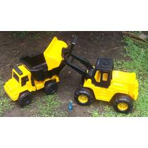 Camion Y Cargadora Duravit Super Set Construccion Original