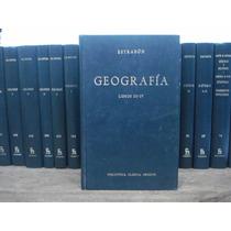 Geografía Libros 3-4 Estrabón Editorial Gredos
