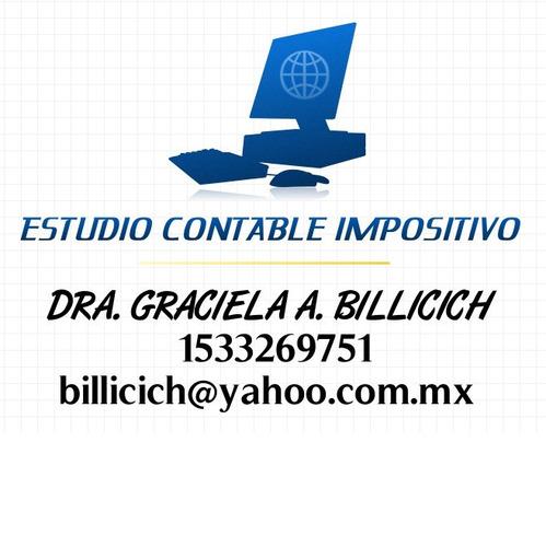 Contador Publico -estudio Contable - Impositivo -