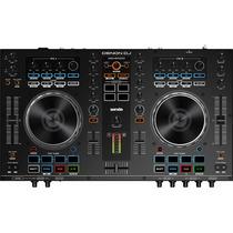 Controlador Denon Dn Mc 4000 Usb Serato Mixer Dj Consola