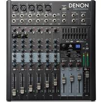 Consola Denon Dn408x Mixer 8 Canales Con Efectos Sonido Usb