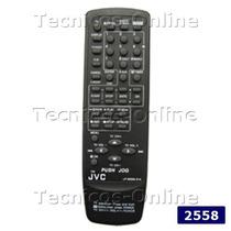 2558 Control Remoto Vcr Jvc Video
