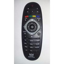 Control Remoto Para Lcd Led Smart Tv Philips Ovalado (reemp)