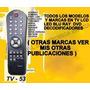 Control Remoto Rd 3411 Tv Seyko Modelo Tss-290