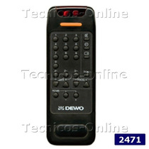 2471 Control Remoto Tv Admiral Akai Dewo Talent Panoramic