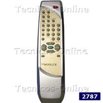 2787 Control Remoto Tv Noblex Telefunken Tcl