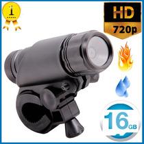 Cámara Sumergible Hd 720p Dvr Deporte Extremo Accesorio Fire
