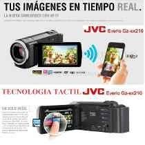 Videocámara Digital Jvc Hd Everio Gz-ex210bu Wifi