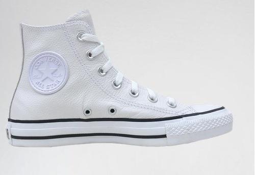 zapatillas converse botitas blancas