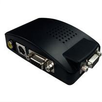 Conversor Video Svideo Bnc Rca A Vga Monitor Con Pip Y 3d Cl