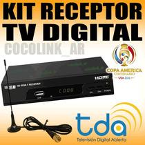 Oferta Decodificador Tda + Ant Interior Graba Y Reproduce