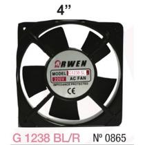Turbina Arwen Ventilador 120x120x38mm Rul. X1238bl-r 220v