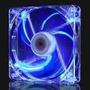 Dc Cooler Fan 12x12 Luz Azul Gabinete 12v Conector Molex