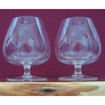 Copas Cognac- 2 Cristal 1° Calidad- En Palermo