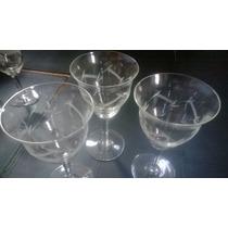 Copas Sueltas De Vino En Fino Cristal