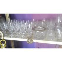 Copas De Cristal Antiguas Talladas