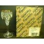 Antiguo Juego 6 Copas Licor Cristal Bohemia Chesco (61f)