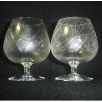 Oferta 6 Copas De Cognac Talladas De Calidad ((1215)f