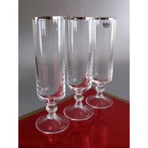 Copas De Cristal Para Champagne, Nuevas, Esecristal.