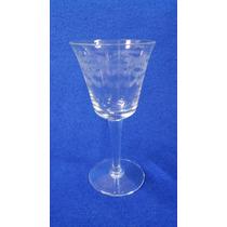 Copas De Cristal Tallado Al Acido 12 Pcs