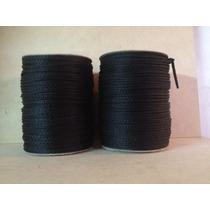 Cordon Polipropileno 4mm X 400mts (2 X 200mts) Color Negro
