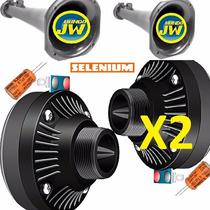 Driver Jbl Selenium D100 X 2 + Corneta X2 + Capacitor X2.kit