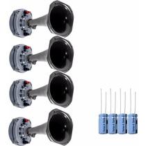 Driver Jbl Selenium D250x + Corneta + Capacitor. Kit X 4 U