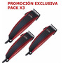 Pack X3 Cortadoras Ga.ma Gm560 24 Piezas Promo!