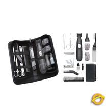 Corta Pelo Kit 15 Piezas C/trimmer Para Viaje Remington