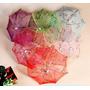 Paraguas Sombrilla Chinas Oriental Blanca Decoración Eventos