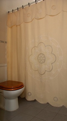 Cortinas De Ba O En Tela Pictures To Pin On Pinterest