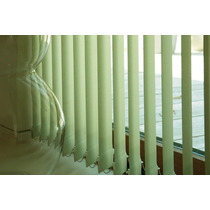 Cortinas Bandas Verticales Black Out Sunset Hunter Douglas