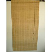 Cortina Romana De Bambu En Paños