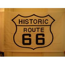 Bandera Poster Cortina Route 66