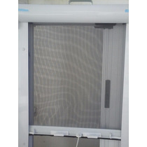 Mosquitero Enrollable Con Cajon Y Guias De Aluminio