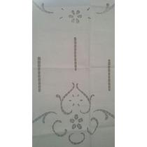 Visillo Cortina Rustico Calado 60x150 Cm