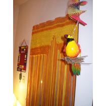 Cortina Crochet En Totora - Puertas - Ventanas - Aberturas