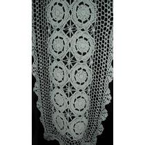 Cortina Visillo Bando Crochet Hilo Algodon