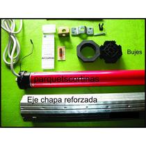 Motor Tubular Para Cortina Con Control Remoto Con Eje Y Acce